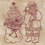 Believe In Santa Machine Embroidery 1 Bird Brain