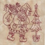 Believe In Santa Machine Embroidery 2 Bird Brain