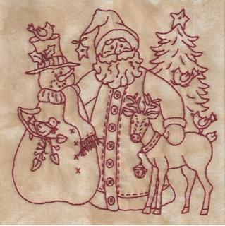 Believe In Santa Machine Embroidery 3 Bird Brain