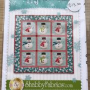 Happy Snowman - Shabby Fabrics