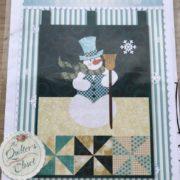 Mr Snowman Shabby Fabrics