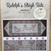 Rudolphs Sleigh Ride Petals & Patches