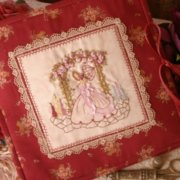The Gentle Seamstress Embroidery Folder - Faeries in my Garden