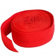 By Annie 20mm Fold Over Elastic Atom Red