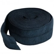 By Annie 20mm Fold Over Elastic Navy