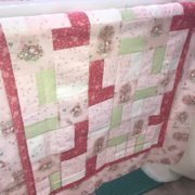 Little Girl Pink Quilt Kit