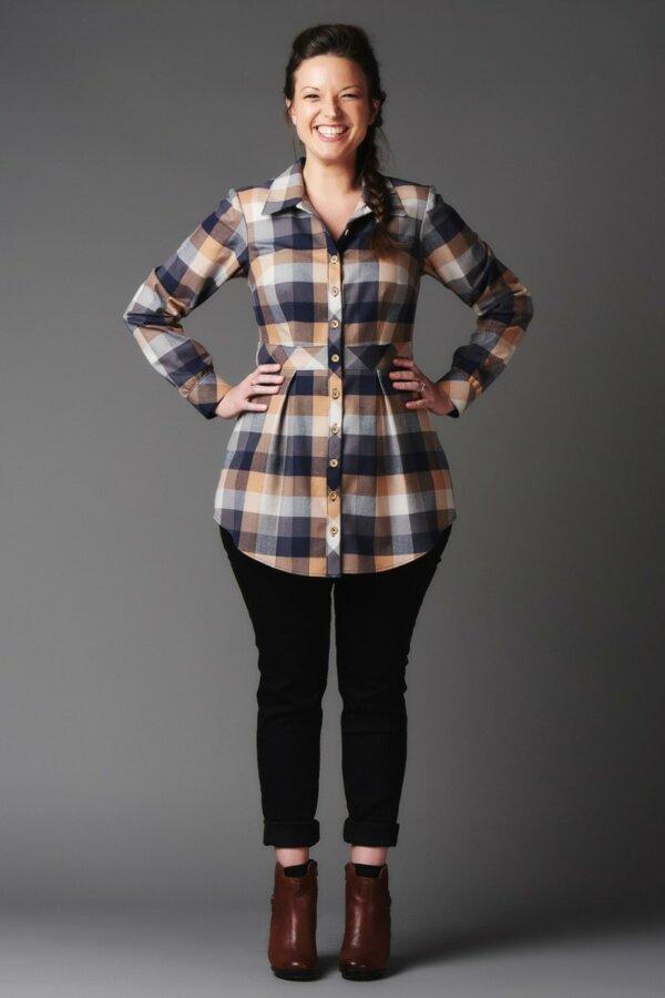 Bruyere Shirt Pattern (1)