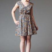 Reglisse Dress Pattern - Deer & Doe