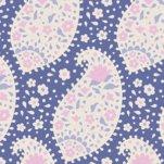Tilda Plum Garden Teardrop Blueberry