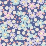 Tilda Plum Garden Windflower Blueberry