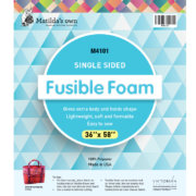 Matilda's Own Single Sided Fusible Foam