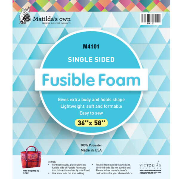 Matilda's Own Single Sided Fusible Foam