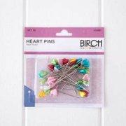 Birch Heart Pins