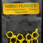 Bobbin Huggees Size L - Ceebee Quilts