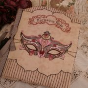 Burlesque Rose Needlework Folder - Faeries in my Garden