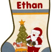 Ethan's Stocking - Kids Quilts