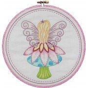 Fairy on Mushroom - Nikki Tervo