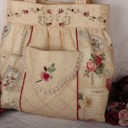 Granny Rose Dilly Bag - Faeries in my Garden