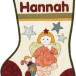 Hannah's Stocking - Kids Quilts