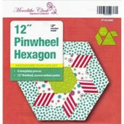 "Matilda's Own 12"" Pinwheel Hexagon Template Set"