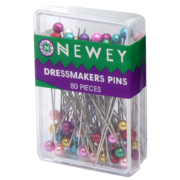 Newey Dressmakers Pins - 80Pk