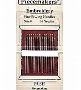 Piecemaker Embroidery Needles #8 16 Pk