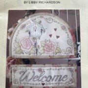 Rose Welcome Sign - Libby Richardson