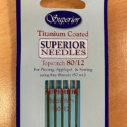 Superior Topstitch Needles 80 12