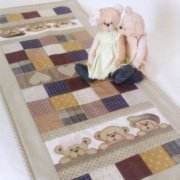Teddy Table Runner Libby Richardson