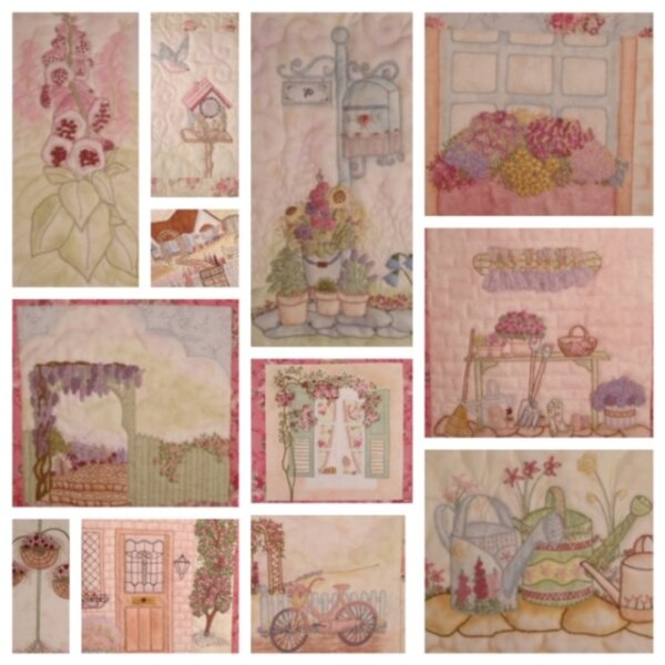 An English Country Garden Complete Set Of Patterns 2 Faeries In My Garden