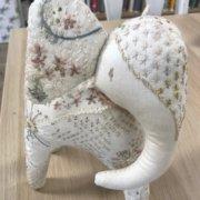 Baby Elephant Patch - Hare's Nest Stitchery