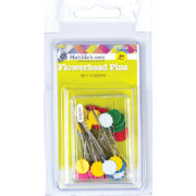 Matilda's Own Flower Head Pins 50Pk 50mm x 0.55mm