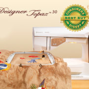 Designer Topaz 30 Sewing & Embroidery Machine