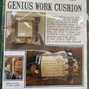 Genius Work Cushion Cottage Garden Threads