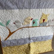 Leafy Treetops Quilt Kit Zoology Edition