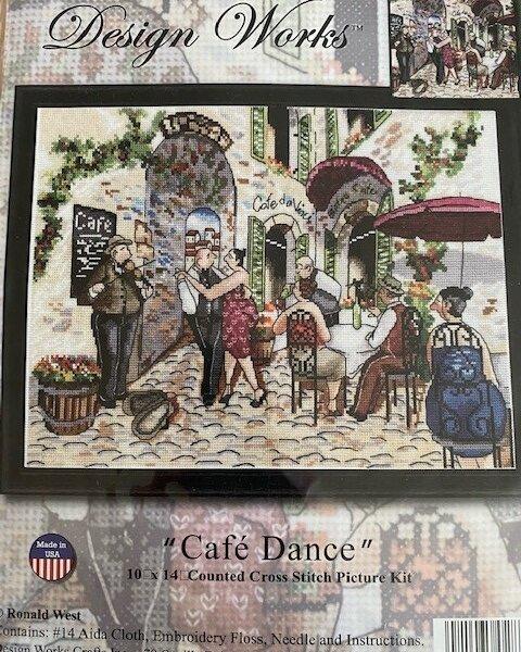 Cafe Dance Cross Stitch Kit